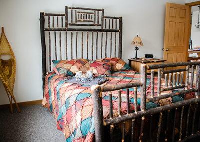 Lumberjack Loft Bedroom   Second Wind Country Inn, Ashland, WI