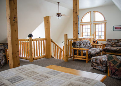 Northern Lights Loft Upstairs   Second Wind Country Inn, Ashland, WI