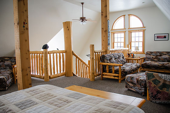 Northern Lights Loft Upstairs | Second Wind Country Inn, Ashland, WI