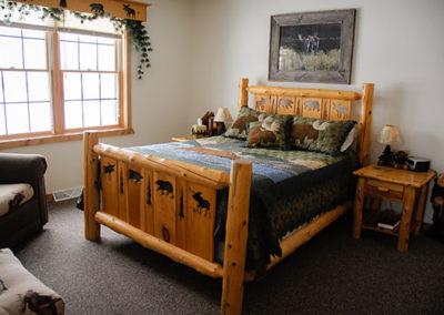 Northern Lights Loft Bedroom   Second Wind Country Inn, Ashland, WI